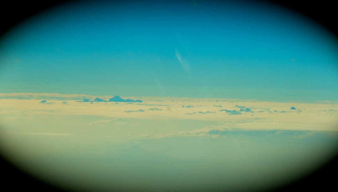 Islands in the clouds - 20,000'+