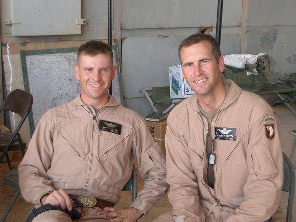 Bob and I at Al Asad